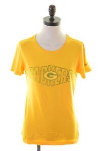 Femme Taille Vintage shirt Nike Coton 12 Jaune T Top Hd04 nkOP8NwX0Z
