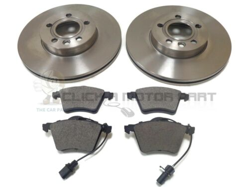 CHECK SIZE SEAT ALHAMBRA 1.9 2.0 TDI 1.8 2001-2010 FRONT 2 BRAKE DISCS AND PADS