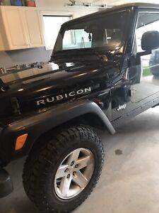 Jeep Rubicon TJ SAFETIED