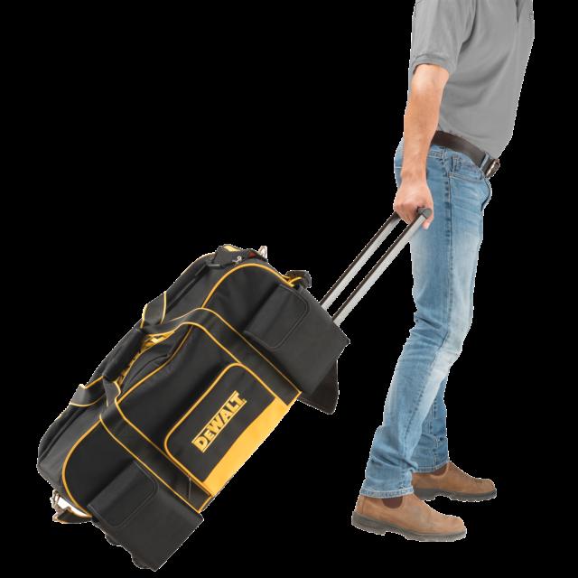 Dewalt Heavy Duty Roller Tool Bag With Handle Wheels Dwst1 79210 Fast Shipping