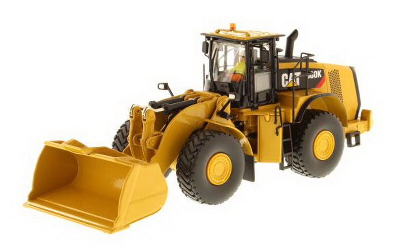 1/50 DM Cat 980K Wheel Loader Material Handling Configuration Diecast