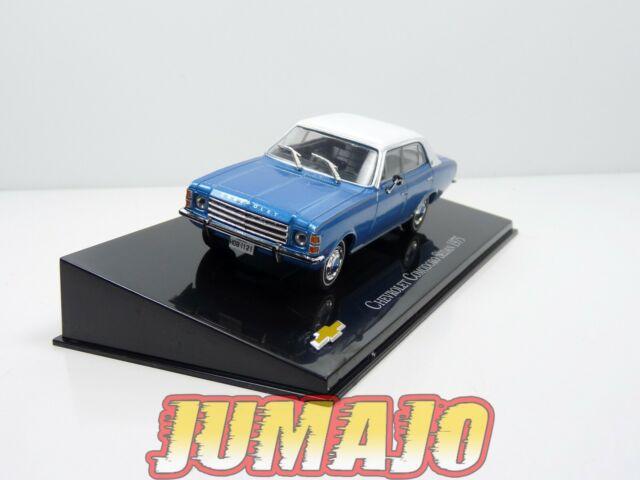 CVT50 voiture 1/43 IXO Salvat BRESIL CHEVROLET : COMODORO SEDAN 1975