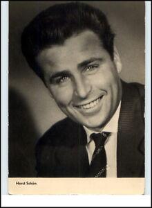 DDR-Starfoto-Kino-Fernsehen-Film-Schauspieler-Actor-1961-HORST-SCHON-Foto-AK