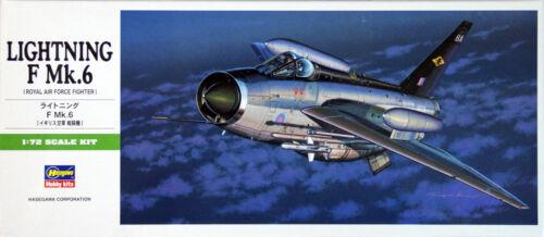 Hasegawa B15 Lightning F Mk.6 1//72 scale kit