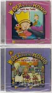 2-CD-Hedwig-Munck-Der-kleine-Koenig-sucht-den-Teddy-2-Ich-lad-alle-ein-20-OVP
