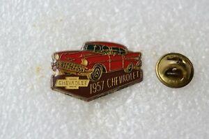 Auto Pin++Chevrolet 1957++rot+Oldtimer++ Sammlung++
