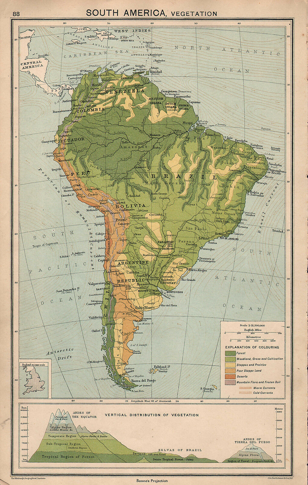 South America Maps  Maps Atlases  Globes  Antiques