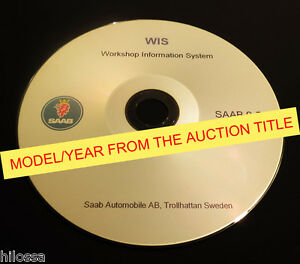 saab 9 3 9440 2009 wis service repair manual ebay rh ebay com Saab 9-3 Viggen Saab 9-3 Aero