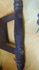 Vintage Antique collectable wooden handle Kitchen Chopper / Dough Cutter