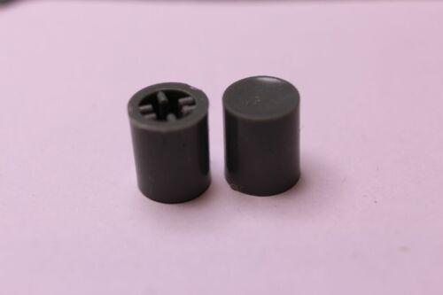 Schalterkappe D 10mm  L11,8 für 3,3mm Schaft grau  5Stück