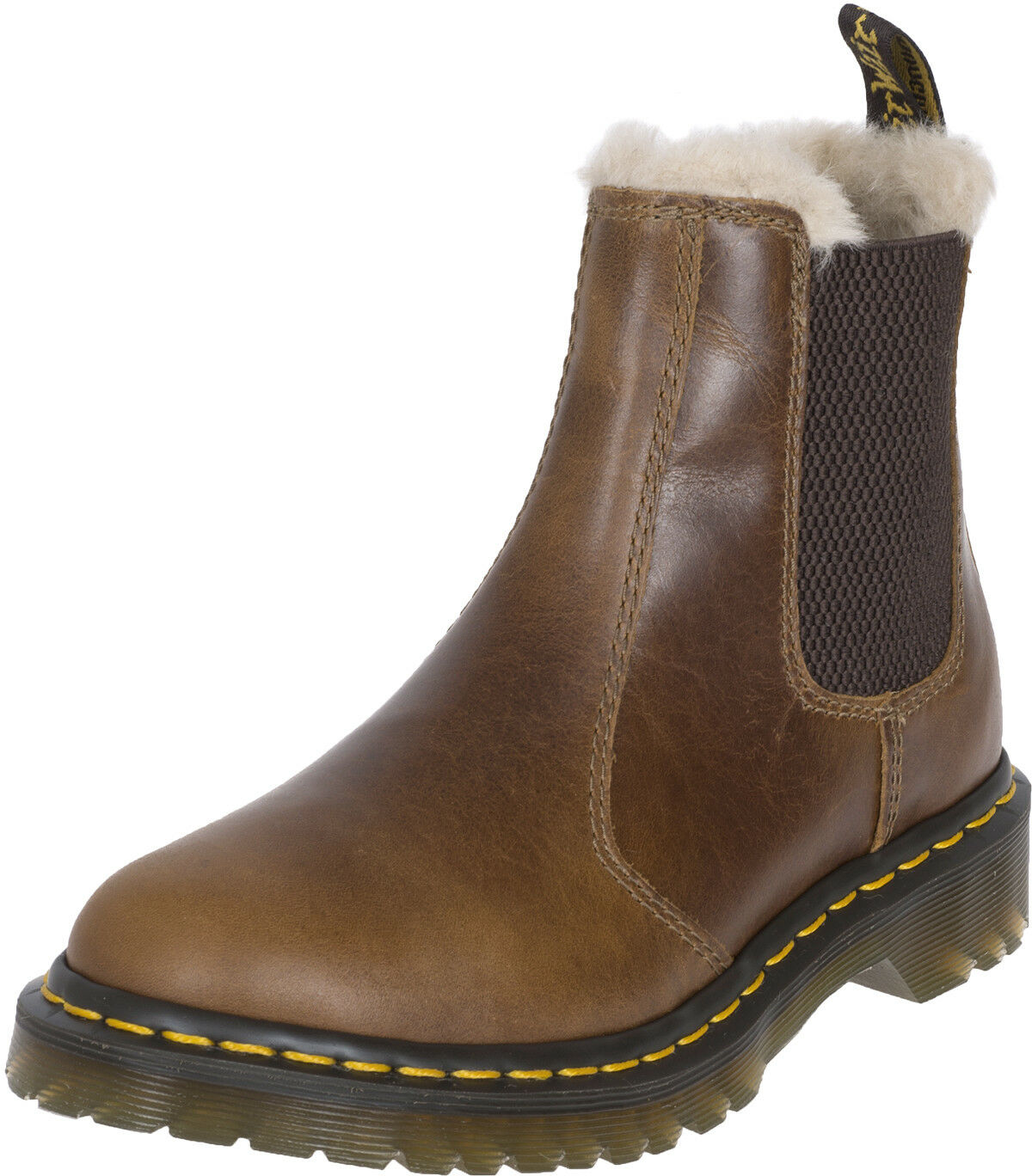 Dr. Martens 2976 LEONORE Butterscotch Fake Fur CHELSEA Stiefel Stiefel Stiefel Stiefel Rockabilly   0d7f24