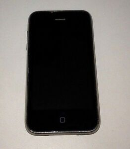 Apple-iPhone-3GS-16GB-Black-AT-amp-T-POWER-CHARGE-ONLY-FOR-PARTS-ONLY