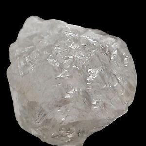 Natural Loose Diamond Rough Raw Shape Silver Grey Color I3 Clarity 1+ Carat Q95