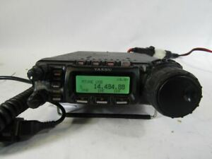 U5874 Used Yaesu Ft 857 Hf Vhf Uhf Ham Radio Transceiver Ebay