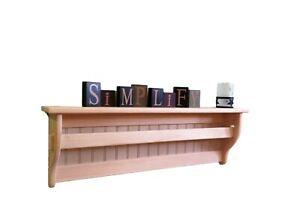 Rustic-Wood-Wall-Hanging-Quilt-Rack-Tapestry-Display-Shelf-Blanket-Display