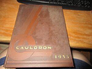 Mercer University Macon Georgia Yearbook Cauldron 1935