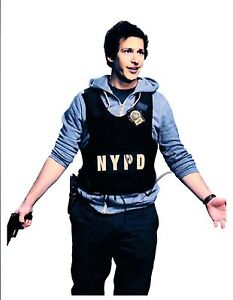 Andy-Samberg-Signed-Autographed-8x10-Photo-Brooklyn-Nine-Nine-SNL-COA-VD