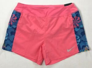 Girl-039-s-Youth-Nike-Dri-Fit-Dry-Standard-Fit-Polyester-Running-Shorts-Size-L