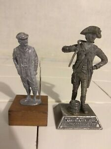 Details about VTG Pewter Toy Soldier Lamb's Artillery Matross 1777  Revolutionary War DR Wsaton