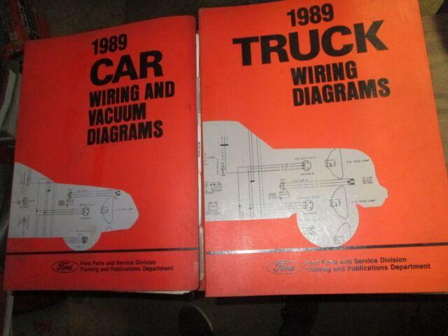 1989 Ford Car  U0026 Truck Mustang Taurus F150