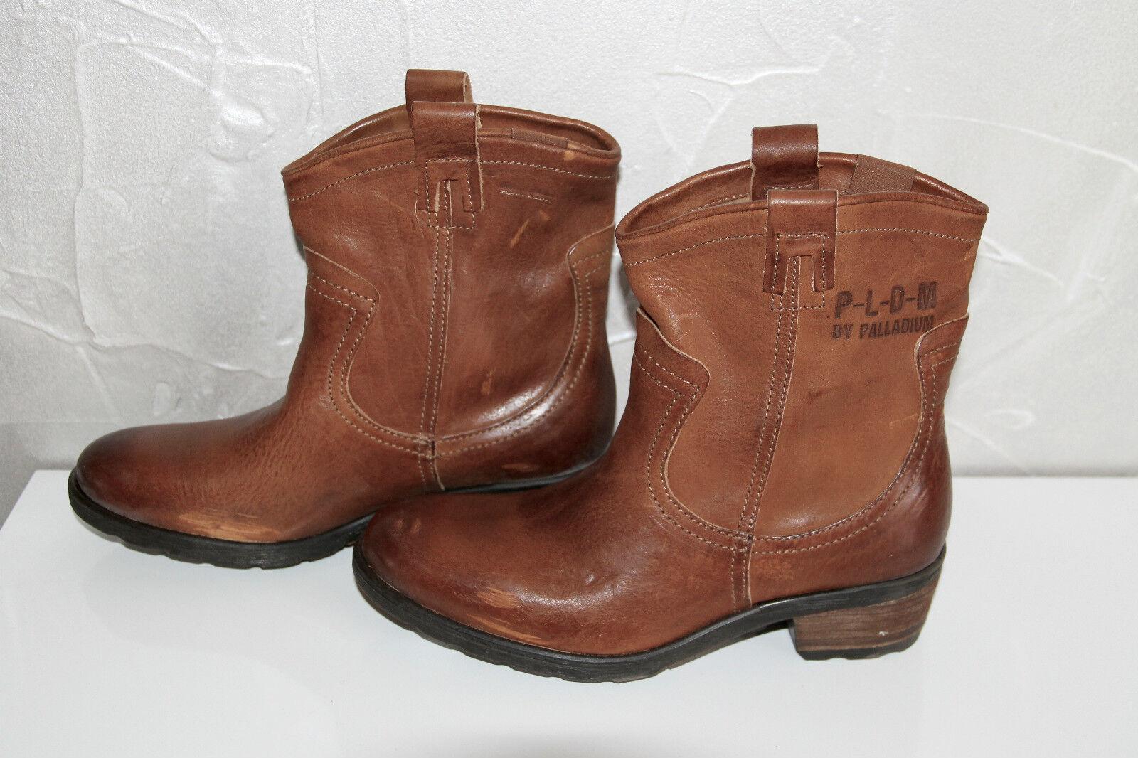 Pretty Stiefel leather camel PALLADIUM Größe 37 all new VALUE