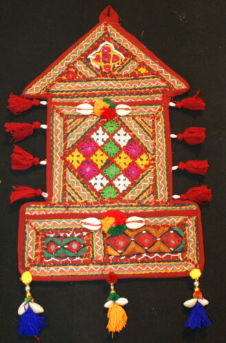 Indian Handicrafts Vintage Ethnic Traditional wall Door Hanging Letter Box Decor