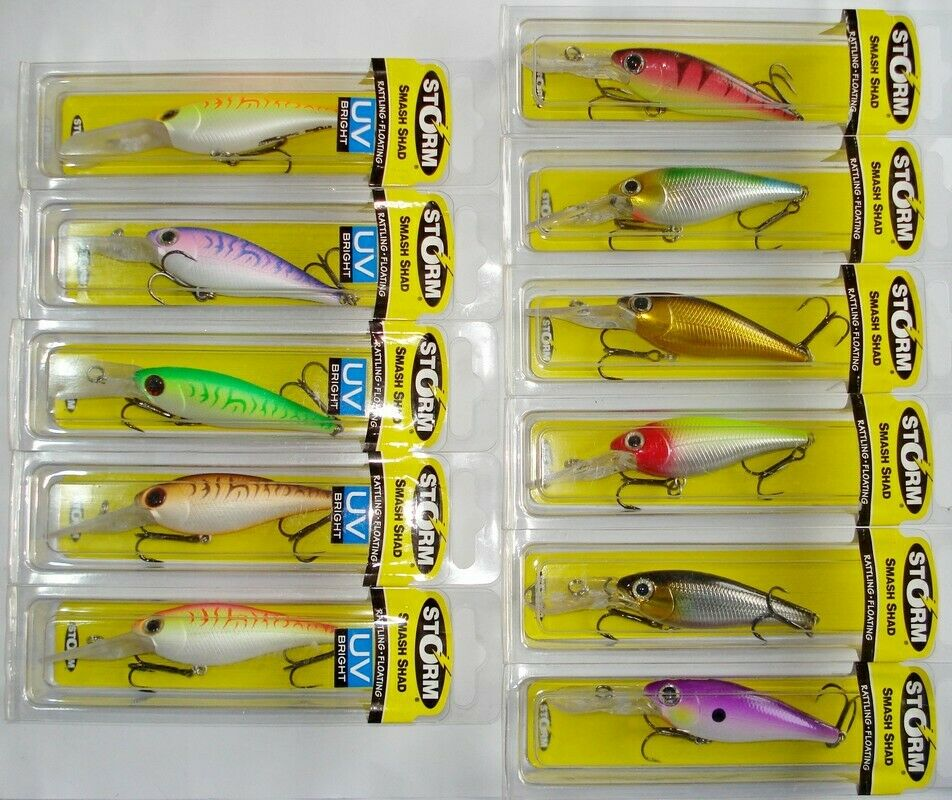 Storm Smash Shad lure SMS07 611 Threadfin Shad
