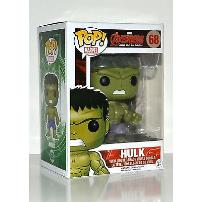 Funko POP Marvel Avengers Hulk Bobble Head Figure #68
