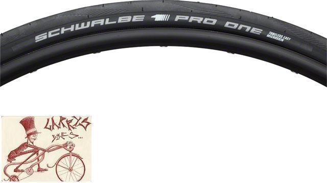 SCHWALBE PRO ONE TUBELESS ONESTAR COMPOUND MICROSKIN  CASE 700 X 23 FOLDING TIRE  online outlet sale
