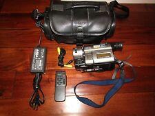 RARE SONY CCD-TRV36 Handycam 330x Video Camera VIDEO TRANSFER XRay Night Vision