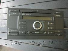 Radio Autoradio CD 5S7T18C815AC code Ford Mondeo III BWY 2.0 TDCi 96KW