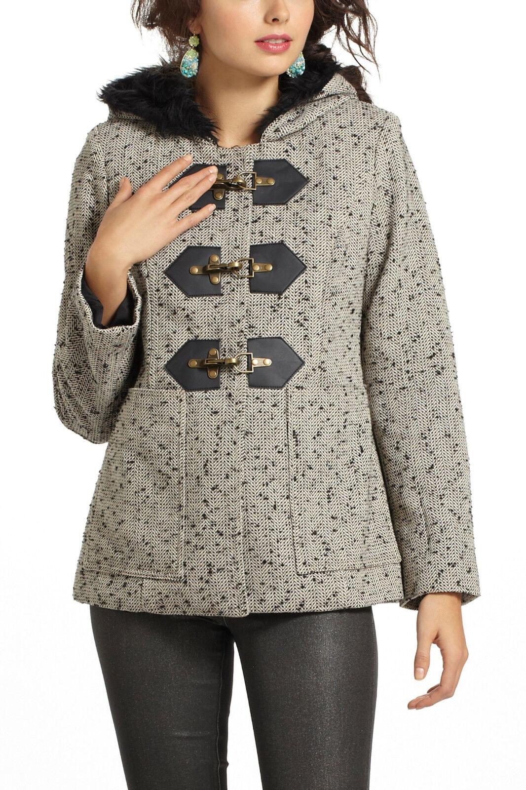 Anthropologie Callum Tweed Coat NIB 2  By Third Piece