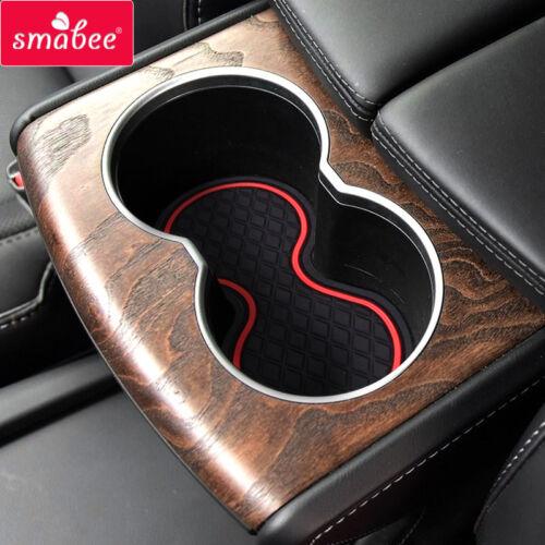 Car gate slot pad For TESLA Motors MODEL S 2013-2015 Door Groove Mat Anti Slip