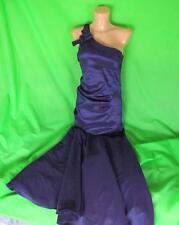 Señoras BETSY ADAM púrpura Baile de graduación Baile Vestido &, Reino Unido 8, sirena Cola de pescado, noche D551