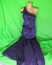Ladies BETSY & ADAM purple prom ball gown, UK 8, mermaid fishtail, evening D551