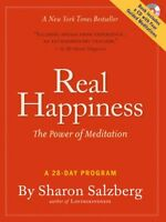 Real Happiness: The Power Of Meditation: A 28-day Program By Sharon Salzberg, (p on sale