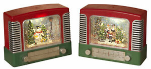 Vintage-Radio-Shaped-Christmas-Spinning-Glitter-Water-Snow-Globe-Lantern-Set