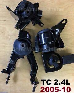 9M1226 4pc Motor Mounts fit 2.4L Engine 2005-2010 Scion tC AUTOMATIC Trans