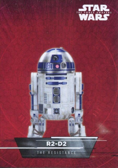 Star Wars Force Awakens S1 Character Sticker Chase Card #18 TIE Fighter
