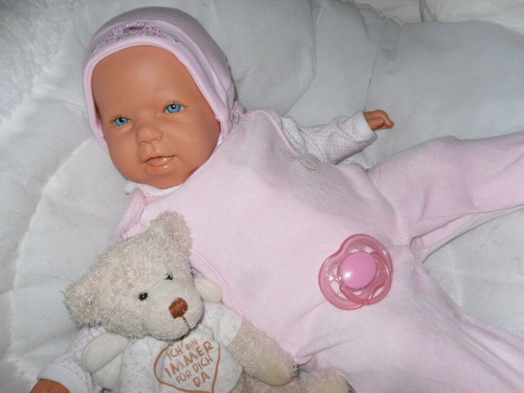 Traumbambolas Antonio  Juan Lilly 50 cm bambino Bambola rebornbambino RealLife BAMBOLA DA COLLEZIONE  il più alla moda