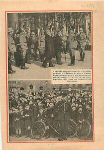 """Berlin Unter der Linden Chancelier Reich Generalfeldmarschall Paul von 1933 - France - Commentaires du vendeur : """"OCCASION"""" - France"""
