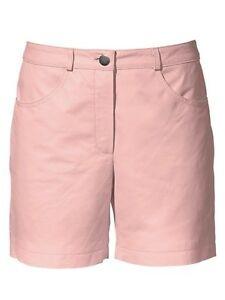 21f64fa9178772 Heine Lederhose Gr. 34 - 46 rosa rose Ledershorts Shorts Leder Hose ...