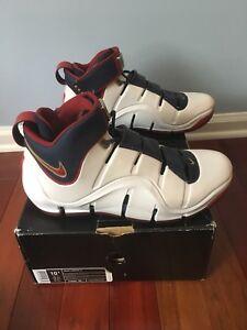 60581442823d NEW Lebron IV Remix Playoff Size 10.5 Nike Air shoes 4 NIB Playoffs ...