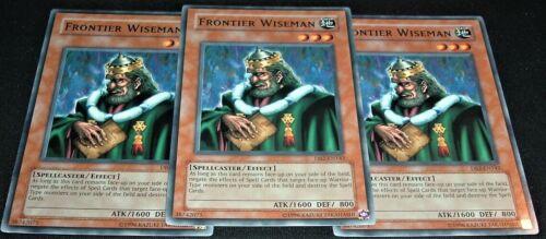 Yugioh Frontier Wiseman DB2-EN142 NM//MINT 3X Common Unlimited