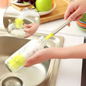 Bottle-Cup-Cleaning-Brush-Long-Handle-Bendable-Scrubbing-Cleaner-Kitchen-Tools