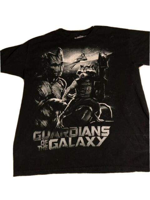 GUARDIANS ROCKET MENS T SHIRT GALAXY LORD STAR GROOT NEW QUALITY PREMIUM GIFT