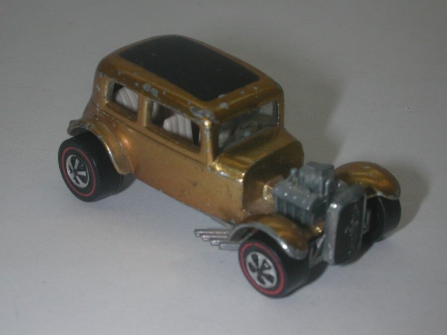 rotline Hotwheels Gold 1968 Classic 32 Ford Vicky oc17387