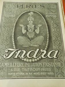 Perles-Indra-la-meilleur-imitation-existante-Print-1913