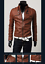 New-Men-039-s-Slim-Fit-Zipper-Designed-PU-Leather-Jacket-Coat-Free-Post-0309 thumbnail 2
