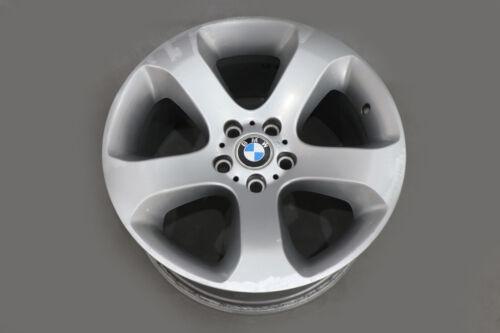 "* BMW X5 SERIE E53 Ruota Posteriore Argento in Lega RIM 19/"" Star Spoke 132 ET:45 10J"
